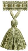 Hallis Colour Passion Trends Tassel Fringe Trimming, Lime Green
