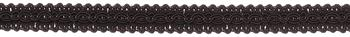 JLS Upholstery 13mm Braid Trimming, Black