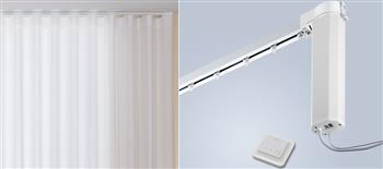 Silent Gliss 5100 New Autoglide Electric Curtain Track, Standard, White