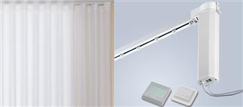 Silent Gliss 5100T New Autoglide Electric Curtain Track, Timer, White