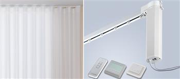Silent Gliss 5100TC New Autoglide Electric Curtain Track, Total Control, White
