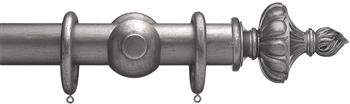 Advent 47mm Curtain Pole Pewter Ornamental Urn