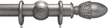 Advent 47mm Curtain Pole Pewter Acorn