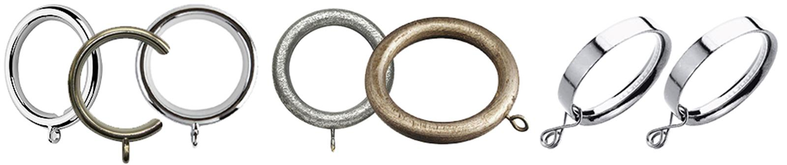 Special Offer Curtain Pole Rings & Gliders