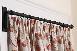 Portiere, Drapery Arms & French Poles