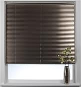 Swish Cordless Venetian Blind 25mm Slats, Brushed Bronze
