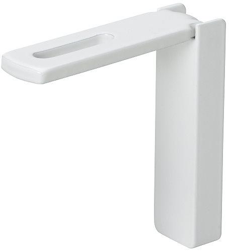 Silent Gliss 60mm Smart Fix Bracket 11206 in White