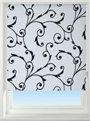 Universal Patterned Blackout Roller Blind, Virginia