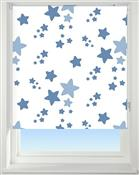 Universal Patterned Blackout Roller Blind, Twinkle Twinkle Blue