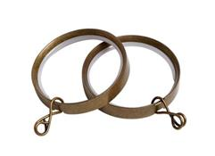 Speedy 50mm Lined Rings, Antique Brass